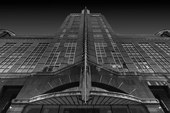 One American Square (Sam Codrington) Tags: thecityoflondon bnw architecture building london outdoors squaremile photography monochrome buildings mono crosswall blackandwhite oneamericasquare artdeco england unitedkingdom gb symmetrical