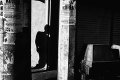 Posters (Meljoe San Diego) Tags: meljoesandiego fuji fujifilm x100f streetphotography street shadow candid monochrome philippines