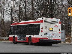 Toronto Transit Commission #8662 (vb5215's Transportation Gallery) Tags: ttc toronto transit commission 2017 nova bus lfs