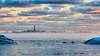Rönnskär Lighthouse - Rönnskärin majakka (Olli_Pihlajamaa) Tags: lighthouse winter majakka talvi sky taivas meri sea ice jää