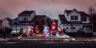 Christmas in the 'Burbs: Endless Inflatables