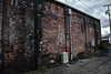 Dark Alley Baking (Perry Weenkle) Tags: montana ghostsign smalltowns wheat flour red brick