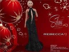 Rebecca (Selene Morgan) Tags: selenecreations maitreya belleza isis freya venus lara slink original physique hourglass tmp fitmesh bento gown formal dress