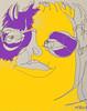 2017.10.08 Digital Color (Julia L. Kay) Tags: juliakay julialkay julia kay artist artista artiste künstler art kunst peinture dessin arte woman female sanfrancisco san francisco sketch dibujo selfportrait autoretrato daily everyday 365 self portrait portraiture face dpp dailyportraitproject digital pen paper ink sharpie gelli gelliplate monoprint monotype print printmaking
