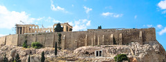 Parthenon (marianna.mangiorou) Tags: greece athens ancient civilization acropolis beautiful view from museum sunny summer democracy athena 432 bc classical