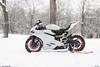 959 Panigale. (Reid Elattrache) Tags: ducati 959 panigale italian italy sport bike motorcycle fast pittsburgh pa snow winter sky