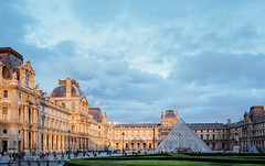 Louvre (boshiang) Tags: architecture archdaily art public photography paris pyramid pei france travel louvre city skyline streeview urban night
