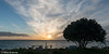 Sunset off the deck (Mike Brebner) Tags: sea rangiputa harbour sunset northland far north water beach view holiday leisure december 2017 summer nz newzealand