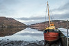 Vital Spark Inveray (Geoffrey Tibbenham) Tags: boat loch reflection sky light landscape seascape scotland vital spark shoreline water countryside openspace outdoor clouds fuji xt1 1855mm inveray mountains ngc