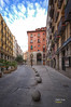(882/17) El Arco (Pablo Arias) Tags: pabloarias photoshop photomatix capturenxd españa cielo nubes arquitectura edificio carretera muro puerta ventanas bolardos madrid