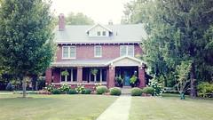 M Early 1900 Home, 1016 N. State St, Monticello, IL 20170731 (RLWisegarver) Tags: piatt county history monticello illinois usa il