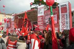 P1040009 (i'gore) Tags: roma sindacato pensioni cgil lavoro diritti giustizia giustiziasociale giovani manifestazione