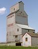 Coderre SK Thursday August 7th 2003 1630CST (Hoopy2342) Tags: elevator prairiesentinel prairie saskatchewan sask coderre grain grainelevator
