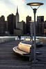 Banco y Lampara / Bench and Lamp (López Pablo) Tags: pier river hudson manhattan new york lamp bench nikon d7200 urban city