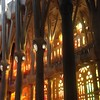 Sagrada Familia int. 1 (Nina A. J. G.) Tags: catalonia catalunya barcelona gaudi antonigaudí gaudí artnouveau architecture modernism hyperboloid hyperboloidstructure mathematics catholicism cathedral sagradafamilia interior stainedglass stainedglasswindows