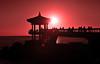sunrise #6 (daniel0027) Tags: sun pavilion sea sunrise silhouette earlymorning rocks people