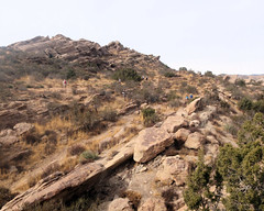 017 The Control Is Located (saschmitz_earthlink_net) Tags: 2018 california orienteering vasquezrocks aguadulce losangelescounty laoc losangelesorienteeringclub
