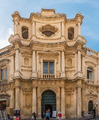 Sicilia. Noto. Iglesia de San Carlos (jsalgados54) Tags: italia sicilia puerta noto fachada columna europa elementosarquitectónicos