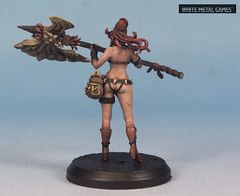 Kingdom Death Pinup Weaponsmith (whitemetalgames.com) Tags: kingdom death pinup weaponsmith fantasy figure board game nude woman female women lady girl mohawk axe whitemetalgames wmg white metal games painting painted paint commission commissions service services svc raleigh knightdale knight dale northcarolina north carolina nc hobby hobbyist hobbies mini miniature minis miniatures tabletop rpg roleplayinggame rng