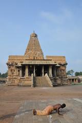 Sri Brihadeswara 1 (wfung99_2000) Tags: tanjore tamilnadu chola hindu shiva temple unesco sri dravidian architecture india brihadisvara