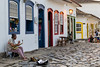 Amigo Fiel (Miro Carvalho) Tags: paraty música músicos cachorro histórico saxofone colonial