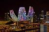 ArtScience Museum (chooyutshing) Tags: projectionmapping animatedshow display attraction hexagonsolutions facade artsciencemuseum marinabaysands marinabay singapore