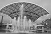 estación Entrevías (martineugenio) Tags: downtown bw madrid españa spain vallecas europa europ estación estructura station lineas lines fuente agua water