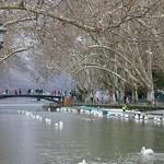 Canal du Vassé, Annecy, Haute-Savoie, Rhône-Alpes, France. thumbnail