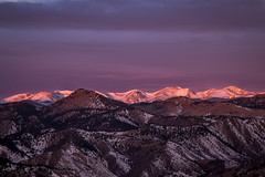 Solstice Sunrise on the Continental Divide (rwbaldwin) Tags: colorado rockymountains frontrange rwbaldwin landscapes winter continentaldivide jamespeakwilderness wintersolstice morning sunrise winterstorm centennialcone