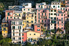 Colorful buildings of Manarola - Cinque Terre National Park - Liguria - Italy (PascalBo) Tags: nikon d500 europe italia italie italy liguria ligurie laspezia cinqueterre nationalpark parcnational manarola outdoor outdoors pascalboegli