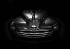 MOTORFEST '17 (Dave GRR) Tags: car vehicle auto front black white monochrome vintage classic old show motorfest canada 2017 ontario olympus omd em1 1240