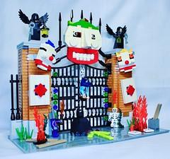 Joker Asylum (LEGO Shusuke) Tags: batwing lego thedarkknight dcsuperheroes superman robin justiceleague apocalypse lexluthor dccomics steppenwolf dawnofjustice theflash batmanvssuperman minifigure instagram wonderwoman custom movie batman blackmanta batmobile sinestro batmanvsuperman jl deathstroke bvs black darkseid batpod bane catwoman bobcane twoface cowl car gorillagrod minifig cyborg hawkman joker katana greenarrow aquaman minifigures ifttt classic legionofdoom 1950s poisonivy arkham legocity moc asylum greenlantern riddler diorama