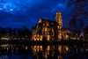 Feuersee Church #1 (Brian Out and About) Tags: churches germany europe stuttgart nikon d5200 explore travel architecture gothic blue hour winter