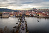 bird's-eye view of Prague (Tony_Brasier) Tags: bridge buildings sky sigma river cold castle prague peacefull photos people location lovely raw rivers trees bluesky 1750mm nikon d7200 czechoslovakia