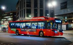 London General SEe38 (cybertect) Tags: adlenviro200ev aldwych canonfd50mmf14 london londongeneral londonwc2 londonbus see38 sonya7 strand wc2 bus doubledecker electric night