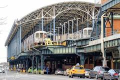 Coney Island-11-1514312380372 (Jeremie Doucette) Tags: subway trainstation train mta subwaystation elevated architecture metal coneyisland boardwalk nyc newyork newyorkcity