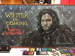 Winter board 2017 (monana83) Tags: chalkart chalkboard chalk