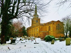 Holy Cross Church, Daventry (Alex J Donohue) Tags: daventrydistrict winter snow northamptonshire northants east midlands uk holycrosschuch