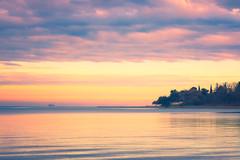 Today's escape (Dejan Hudoletnjak) Tags: sea morning today winter summeryfeel summer summervibes sunrise colorful