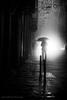 Calle Trinidad (Alfonso Chico) Tags: nocturno night niebla smog blancoynegro blackandwhite monochromia úbeda
