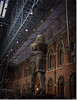Paul Day's The Meeting Place, aka The Lovers Statue, St. Pancras Station. (Bristol RE) Tags: stpancrasstation stpancras london station paulday themeetingplace theloversstatue statue dent dentclock