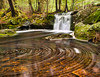 X-ray vision (Wicked Dark Photography) Tags: landscape luminar nh cascade forest nature spring stream water waterfall whirlpool woods