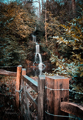 Friday Street Waterfall (ed027) Tags: ifttt 500px trees landscape beauty water reflection nature river rain gate beautiful fall foliage orange england fence wood waterfall countryside mood moody long exposure canal country stream waterfront teal natural light tripod world