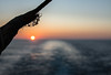 quiet time (-gregg-) Tags: cruise ship sunset ocean