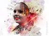 Dreaming (myphotomailbox) Tags: girl photoshop spletters portrait city pse14 layers dream redlips
