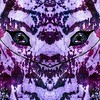 The Look (rhonda_lansky) Tags: look thelook soul eyes pencildrawing drawing mirrored flipped flipping flip mirror symmetrical symmetry art artwork lansky rhondalansky aurorarose1st purple stripes
