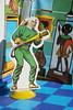 Batman Vinyl Playcase - Mr. Freeze In Gotham Museum ( Ideal 1973 ) (Donald Deveau) Tags: brucewayne museum mrfreeze dccomics ideal playcase playset toys toyphotography vintagetoy batman