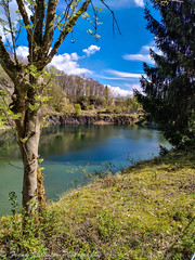 Quarry lake (St. Valentine) Tags: huawei mobile phone lightroom quarry lake water nature steinbruch see wasser