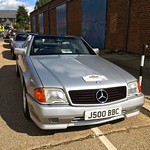 1992 AMG Mercedes 500SL Grey import from Japan thumbnail