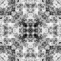 1197470087 (michaelpeditto) Tags: art symmetry carpet tile design geometry computer generated black white pattern